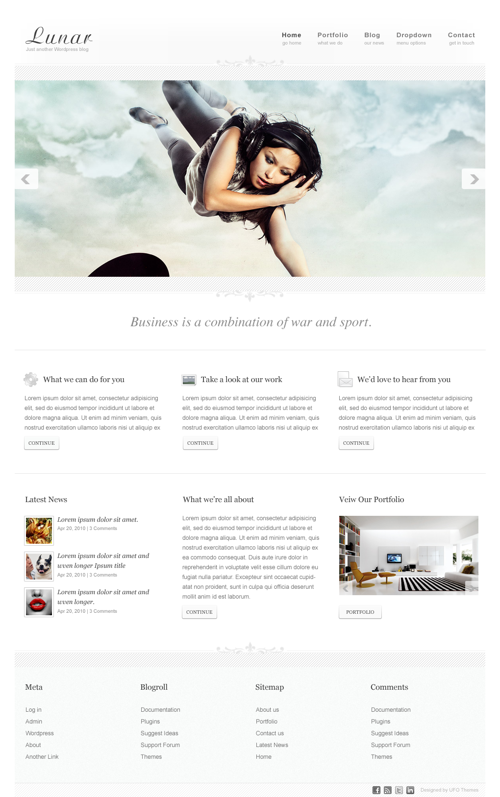 pnews wordpress theme lunar